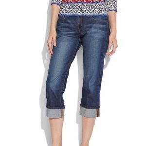 Lucky Brand High Rise Crop Jeans
